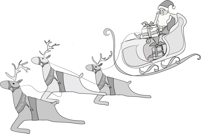 Santa Claus Brings Children Gift of Imagination