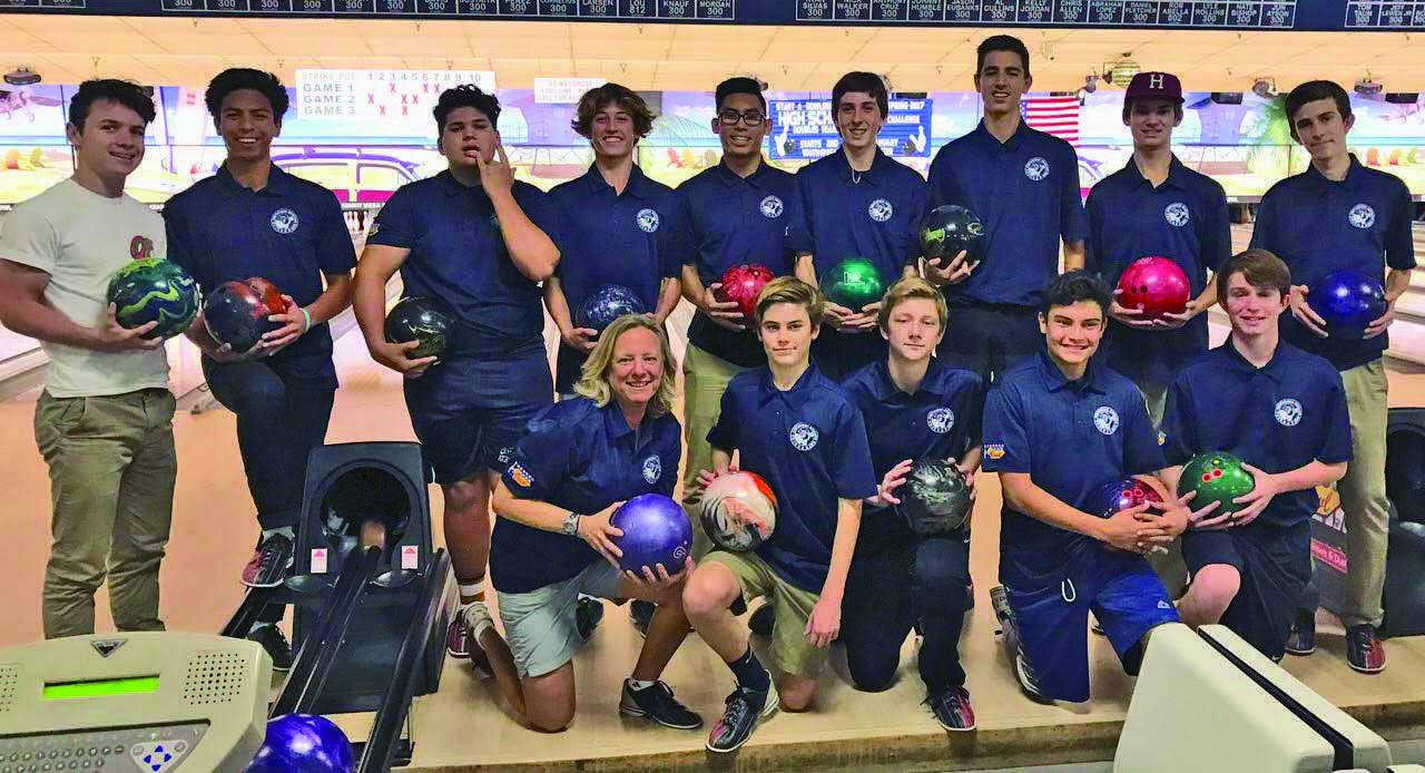 UC High Bowling Club competes at the Kearny Mesa Bowl High School Bowling Challenge.