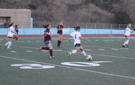 Girls Soccer Clearing the Way to CIF