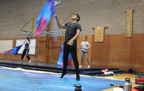 Winter Guard Works Hard to Win Upcoming Competitions