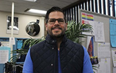 UC High's New Vice Principal Alex Villalobos is excited to be a part of UC High.
