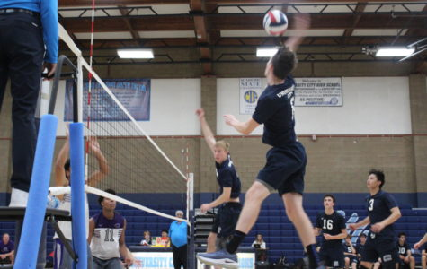 Boys Volleyball Team Takes Western League Championship Title
