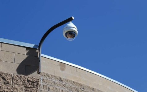 New Surveillance Cameras Installed Around Campus