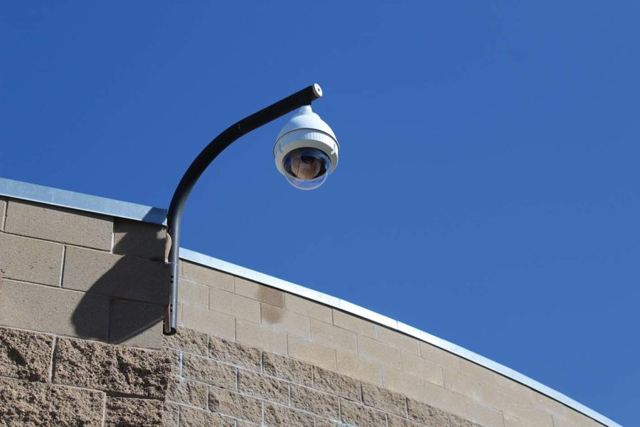 New+and+improved+security+camera+system+installed+throughout+campus+to+improve+overall+safety+and+reduce+theft.