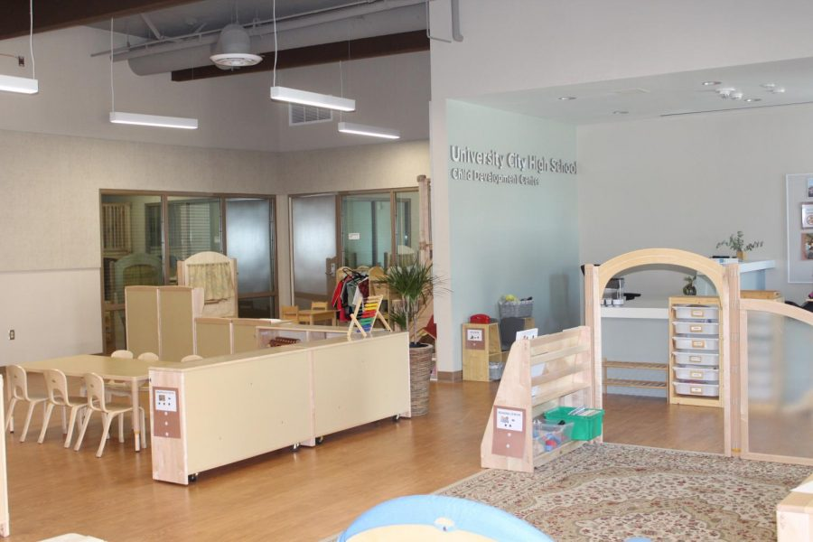 The new Child Development Center is recently renovated, with improvements made both inside and outside.