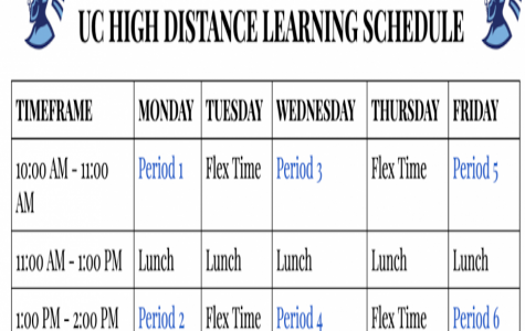 New Distance Learning Schedule to Be Followed Starting April 9
