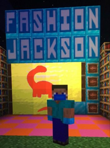 San Diego-based band Fashion Jackson hosts a concert through Minecraft amid the COVID-19 pandemic.