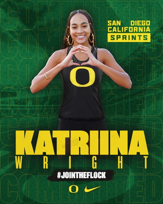 Wright Sprints To Success; Headed to Oregon